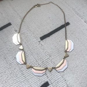 Madewell Brass and Rose Gold Necklace